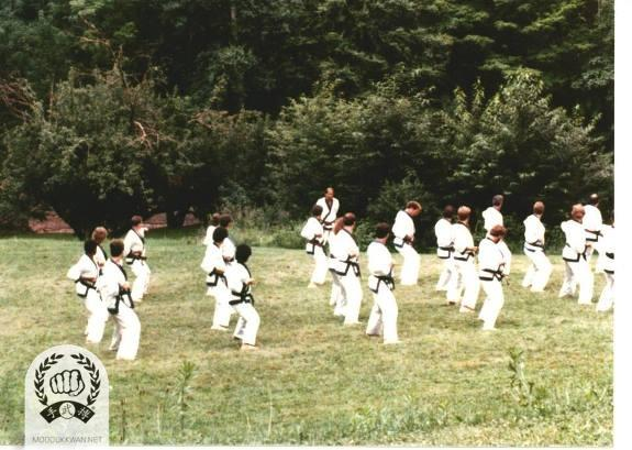 The Summer Camp at the Pathwalk Center, NY in 1987.