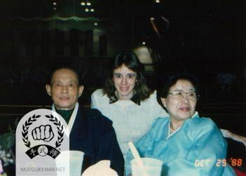 Pilar Leguel (22013)'s visit the Founder and Mrs. Hwang Kee in New Jersey, USA.
