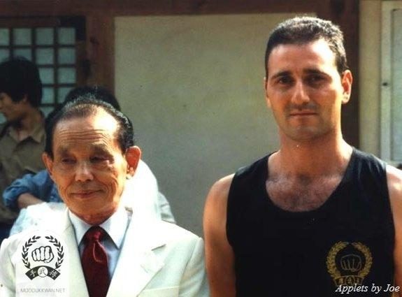 The Founder with Gianni Anile SBN of Italy (21328) at the Folk Village in Yong In, Korea.