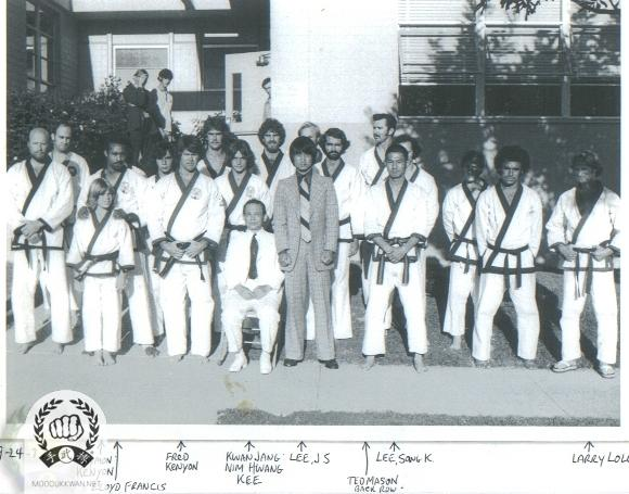 The founder's visit to San Diego, CA in 1977.