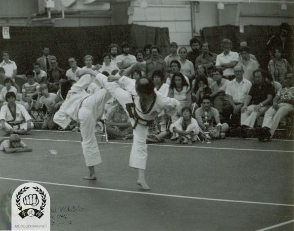 Demonstration by HC Hwang (509) and Young Ki Hong (9193) at the 1st US Nationals in Monticello, NY, USA
