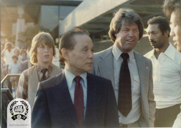 Founder's visit to San Diego, CA druing 1983. Founder, Fred Kenyon (14345), Llyod Francis (12924) are showing in this photo.