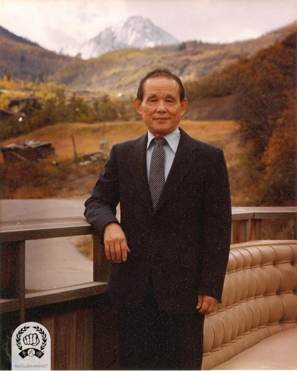 The founder during his visit to Aspen, CO in 1984.