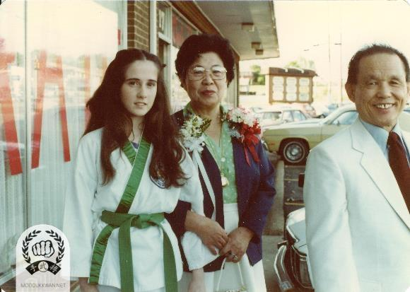 Founder and his wife's visit to branch Do Jang in New York State.