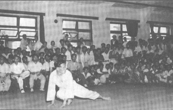 Early Moo Duk Kwan Demonstration