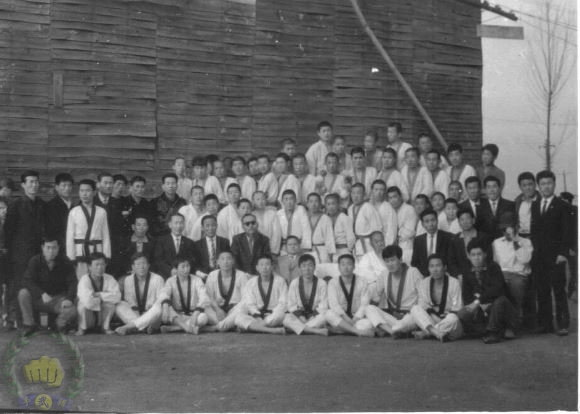 1960 mdk students at Kyong Buk Province branch in 1960