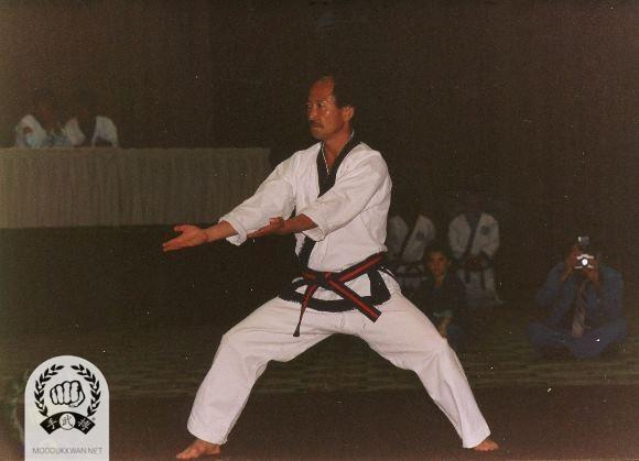 The first public Chil Song O Ro demonstration by HC Hwang (509) at the 1987 US Nationals in Miami, FL