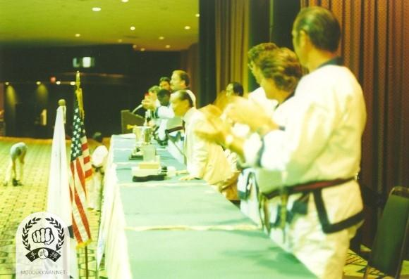 Inrtoduction of the Founder at the 1987 US Nationals in Maimi, Fl.