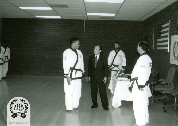 William Ginyard (19960) with the Founder, Russ Hanke(4137), H.C. Hwang (509).