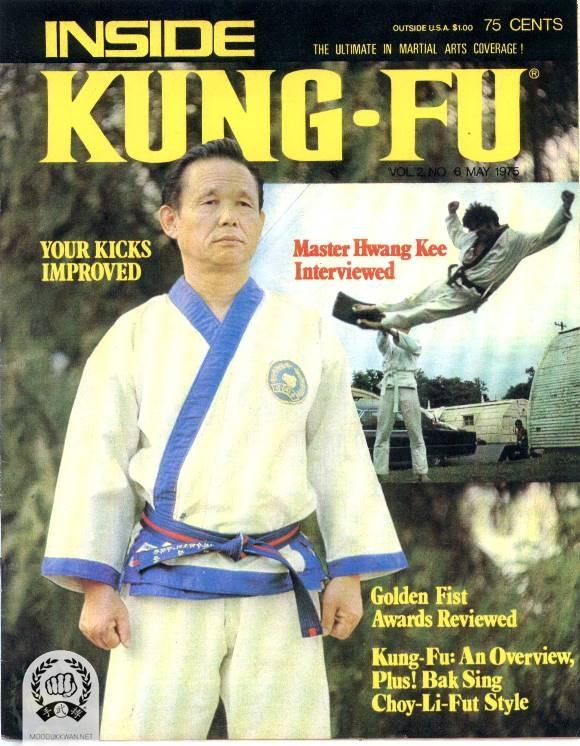 Founder of the Moo Duk Kwan, Hwang Kee