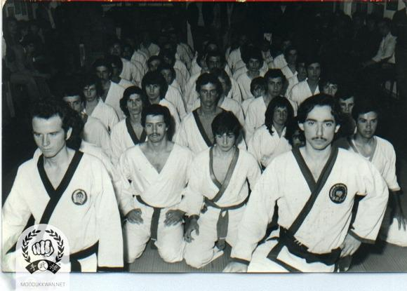 Moo Duk Kwan in Argentina during 1976. Gustavo Poletti (19457) and Roberto Villialba (16519)