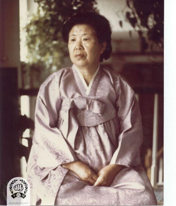 Mrs. Hwang Kee (maiden name: Cho, Kyong Kap) during 1979.