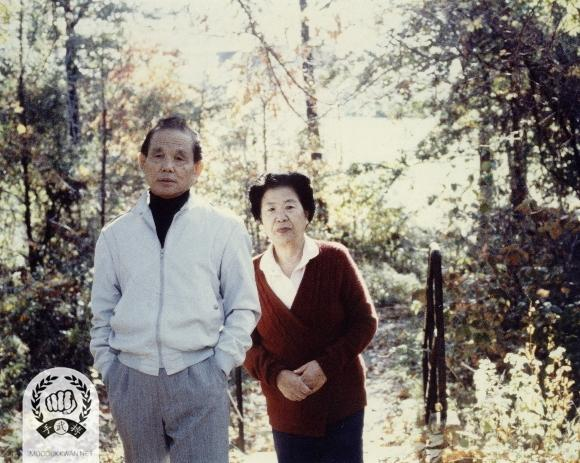 Founder and his wife during 1980