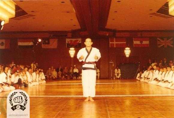 The founder's first demonstration of Hwa Sun Hyung at the 4th Internationals in Atlantic City, MJ.